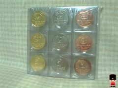 リラックマメダル(金銀銅3色)全9種セット