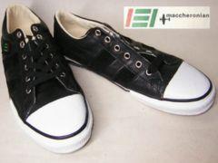 マカロニアンmaccheronian新品ハンドメイド1005l-black38