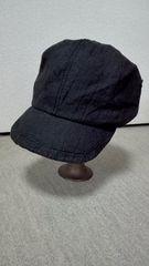 ■override■オーバーライド麻帽子キャスケット