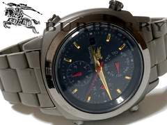 極レア 1スタ★バーバリー/BURBERRY【ソーラー充電】腕時計