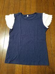フリルTシャツ*140�p