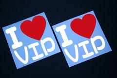 I LOVE ステッカー2枚組み 各色有り VIP