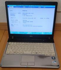 ジャンクLIFEBOOK P770/B(CelU3400 1.06GHz, メモリ1GB, HDD無)