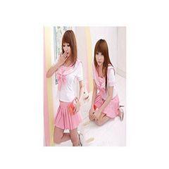 爆安★可愛いピンクセーラー服 F ※おまけショーツ