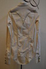 LGBルグランブルー 装飾ウエスタン長袖シャツ 0