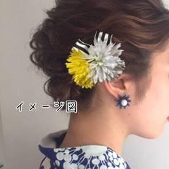 髪飾り ヘアアクセサリー ヘアピン ハンドメイド 浴衣夏祭り☆