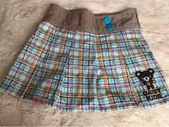 美品  DASIY  KIDS  ミニスカート 130センチ