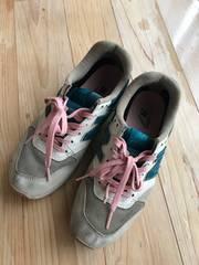 ニューバランス スニーカー キッズ レディース シューズ 靴 24
