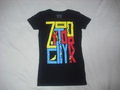 wr494 女 ZOO YORK ズーヨーク 黒 半袖Tシャツ Sサイズ