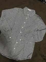 グローバルワーク チェックシャツ M美品!