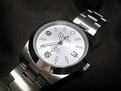 新型★希少 214270 ロレックス NEWエクスプローラー 銀
