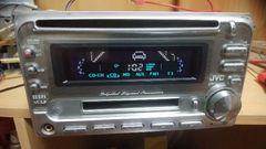 JVC  CD,MDデッキ(フロントAUX付き)
