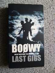 LAST GIGS [VHS] / BOOWY