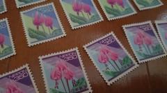 未使用切手 バラ 350×10 92% 額面3500円 送料60円