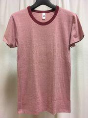 American Apparel☆丸首Tシャツ☆レッド☆Sサイズ☆