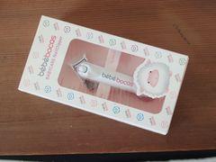新品 ボカス BOCAS 回転式 爪切り Baby用 つめきり ピンク
