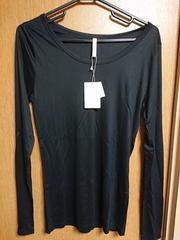 アンタイトル昨季新品黒定番ロングTシャツカットソー大きいサイズ411号13号LL3L