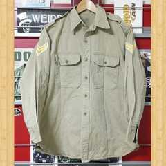 ミリタリーウェア シャツ ジャケット 階級章 軍服