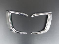 三菱 RVR GA3W/GA4W クロームメッキフォグライトカバー フォグランプリム