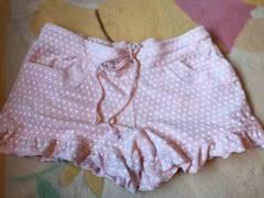 ピンク 水玉 ショートパンツ?