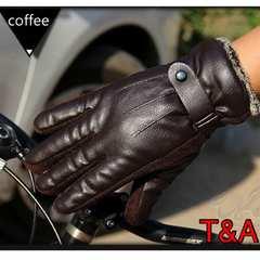 手袋 メンズ 革手袋 レザーグローブ ツーリング ブラウン