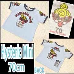 【Hysteric Mini/70】ミニちゃんプリントT