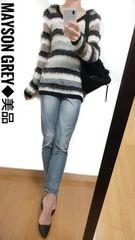 【美品】MAYSON GREY/メイソングレイ◆定価1万8000円◆ニット