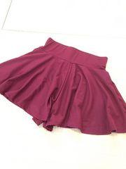 ミニスカ風:キュロットスカート:新品未使用