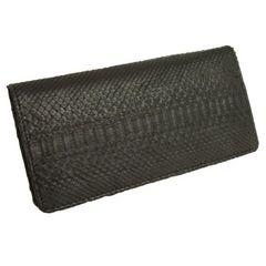 パイソン財布(ブラック)T3248-PY01