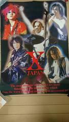X JAPAN ポスター THE LAST LIVE〜最後の夜〜 YOSHIKI hide