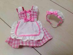 リカちゃん人形のエプロン&三角巾セット
