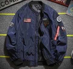 4色MA-1 メンズ スタジャン ジャケット ジャンパー  M~4XL/AK469