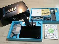 Wii・ブラックセット・完品+はじWii