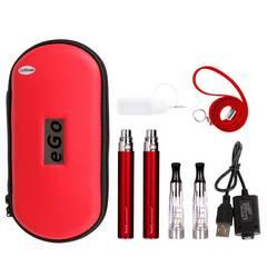 電子タバコCE4 1100mAH禁煙セット レッド