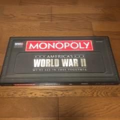 即決 希少 MONOPOLY モノポリー WORLD WAR �U