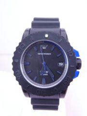 即買 ARMANI アルマーニ クォーツ 腕時計 男女兼用 AR5966 新同★dot