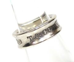 TIFFANY ティファニー 1837 リング 指輪 SV925 シルバー 8号