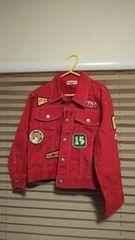 ミキハウス☆ワッペン付ジャケット☆キッズ120サイズ子供服♪