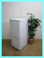 シャープ冷蔵庫(137L・つけかえどっちもドア)SJ-D14C-Wホワイト2017年製