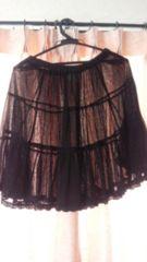フランシュリッペ Mサイズ スカート黒