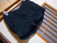100スタセール*H&M*黒薄手ショートパンツ34*クリックポスト164円