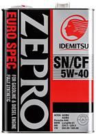 ☆ 出光ゼプロ ユーロスペック SN/CF 5W-40. 4L缶.
