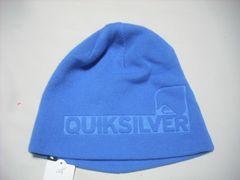 mb203 男 QUIKSILVER クイックシルバー ニット帽 青
