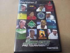 PS2☆スマッシュコート プロトーナメント☆NAMCO。テニスゲーム。