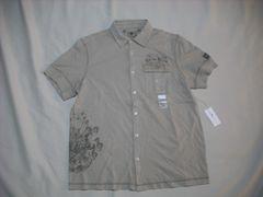 64 男 CK CALVIN KLEIN カルバンクライン 半袖シャツ Mサイズ