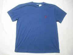 15 男 POLO RALPH LAUREN ラルフローレン 紺 半袖Tシャツ L