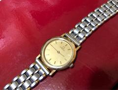 1スタ● 激レア OMEGA デビル ゴールド腕時計