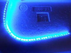 防水仕様 44cm LEDテープライト ブルー 1本