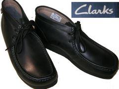 クラークスCLARKS新品ワラビーブーツSTINSON HI26129529黒us9.5