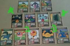 モンスターファーム カードダス+バトルカード 合計62枚 トレカ
